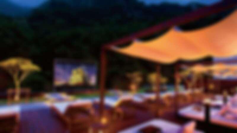 太魯閣晶英酒店擁有全台唯一「峽谷星空電影院」