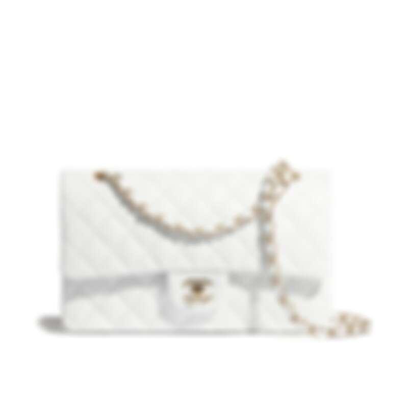 Chanel 11.12小羊皮經典口蓋包,NT242,700