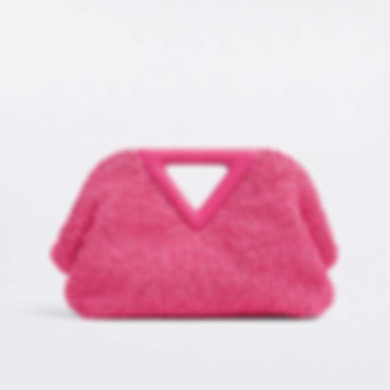 POINT捲曲珍珠呢手提包,NT67,300