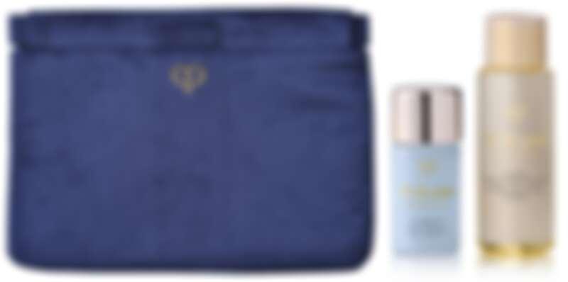 (左)肌膚之鑰奢華手拿包、(右)官網首購禮-光采豪華禮。