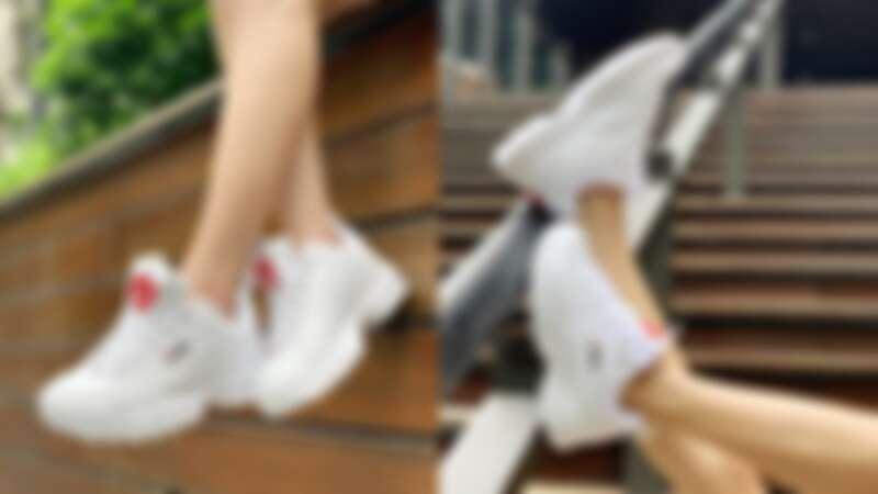 Fila老爹鞋七夕限定系列