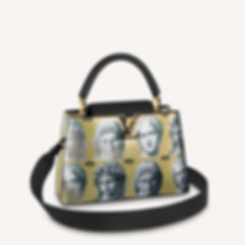 Louis Vuitton X Fornasetti Capucines MM,售價NT$192,000