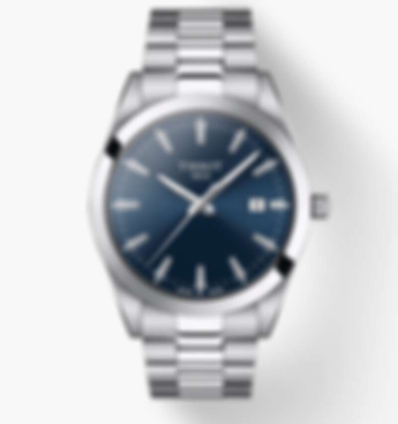 Tissot 天梭 T-Classic 系列,錶徑40mm,石英機芯,參考售價NT$12,500