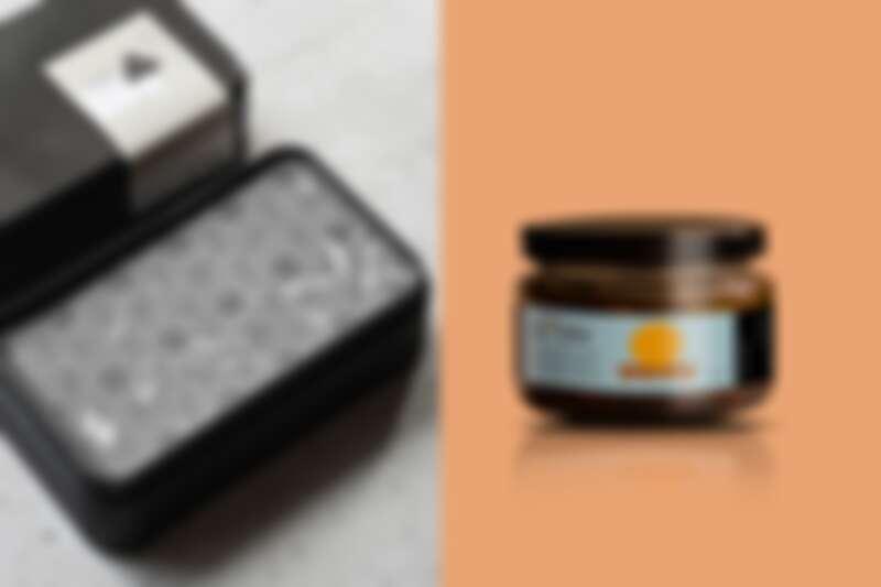 第三季新產品,左為黑蒜奶油右為油漬馬告章魚。