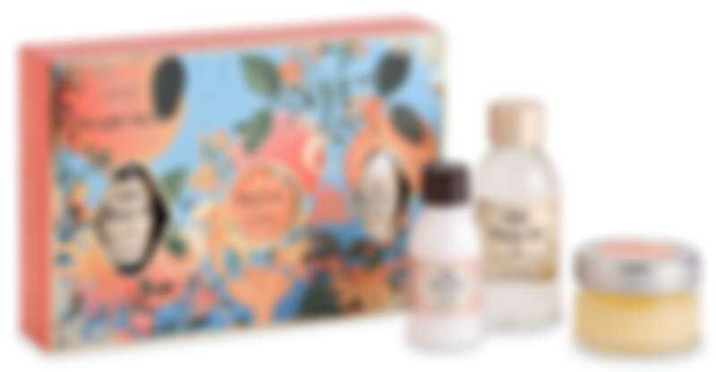 SABON橙花漫舞三部曲禮盒(沐浴油100ml、身體磨砂膏60g、絲綢身體乳液100ml),NT1,180