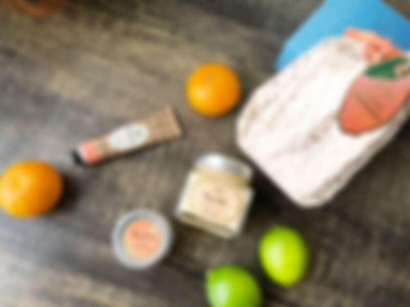 SABON橙花漫舞涼夏限定保養組(身體磨砂膏60g、清爽保濕凝凍200ml、護手霜30ml)NT2,380