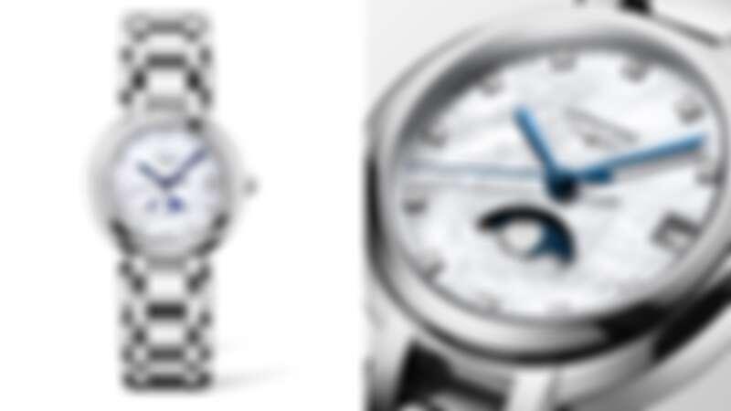 Longines 浪琴表 PrimaLuna新月系列月相顯示女士腕錶(L8.115.4.87.6) 建議售價46,700