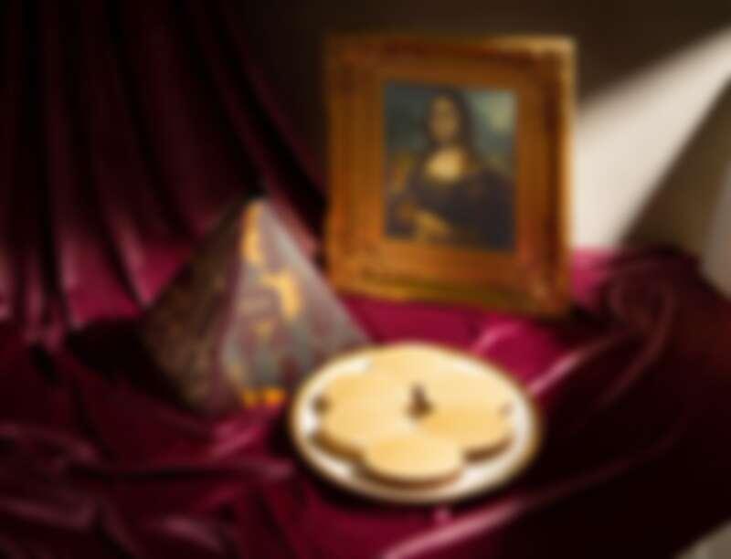 「Häagen-Dazs X LOUVRE 金典蒙娜麗莎」月餅,NT1,380(6入)。