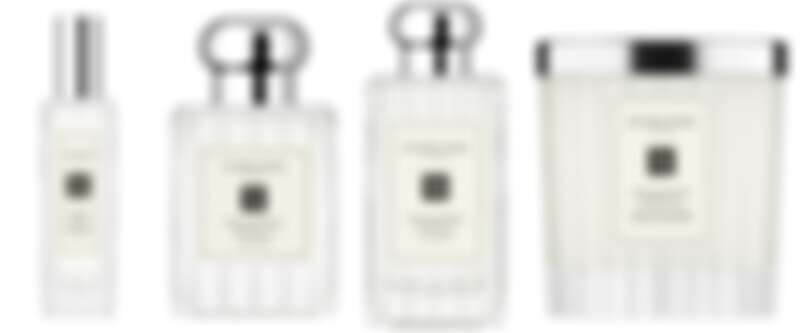 Jo Malone London英國梨與小蒼蘭2021年度限定系列,溝紋玻璃瓶身設計的香水與香氛蠟燭