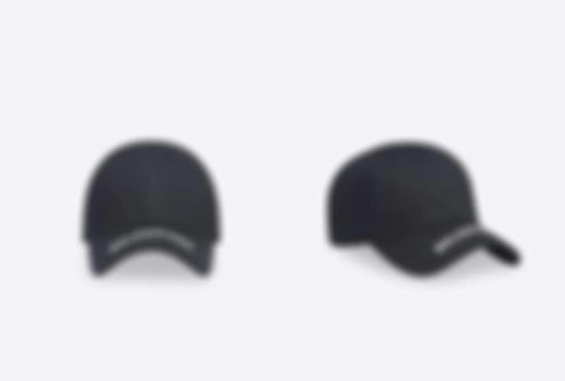 Balenciaga帽簷刺繡棒球帽,NT12,800