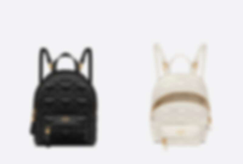 Dioramour愛心壓紋迷你後背包,NT110,000