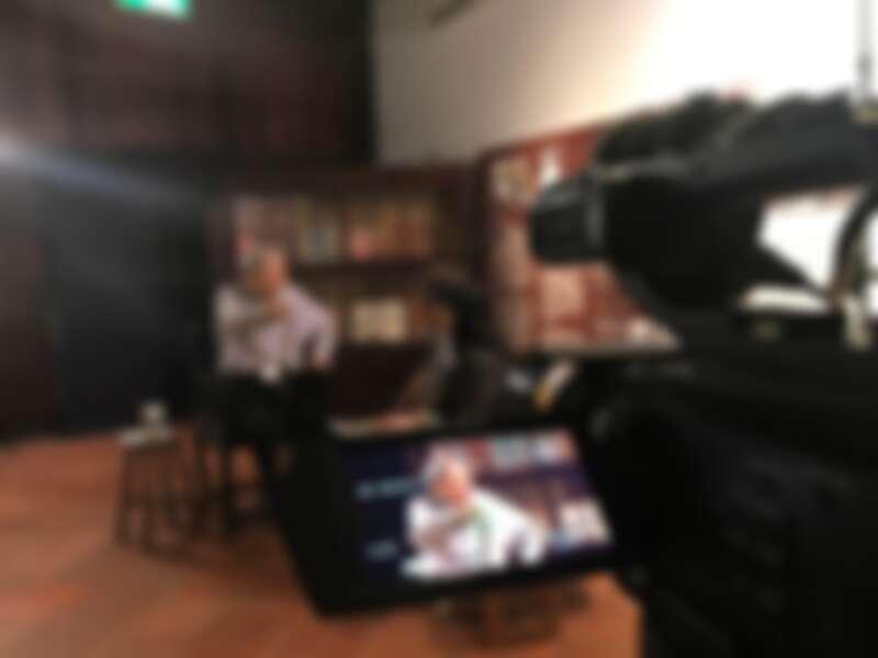 何平導演花費三年半拍攝台灣電影教父李行的紀錄片《行影.不離》金馬影展閉幕獻映