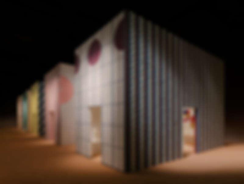 愛馬仕 Hermès 於米蘭家具展會場。