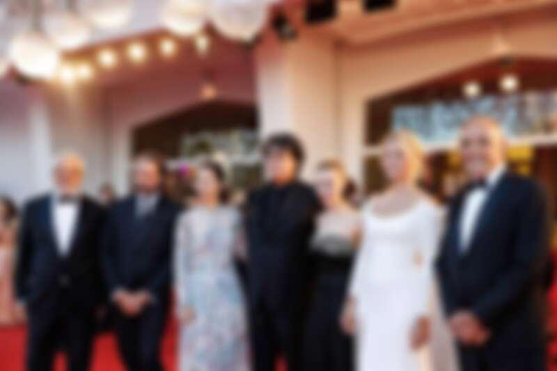 由《寄生上流》導演奉俊昊帶領的2021威尼斯影展評審團。(Photo/Facebook @LaBiennaledivenezia)