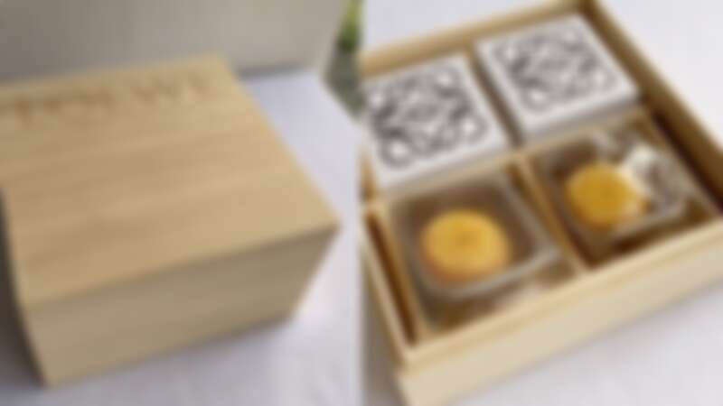 Loewe木質月餅禮盒