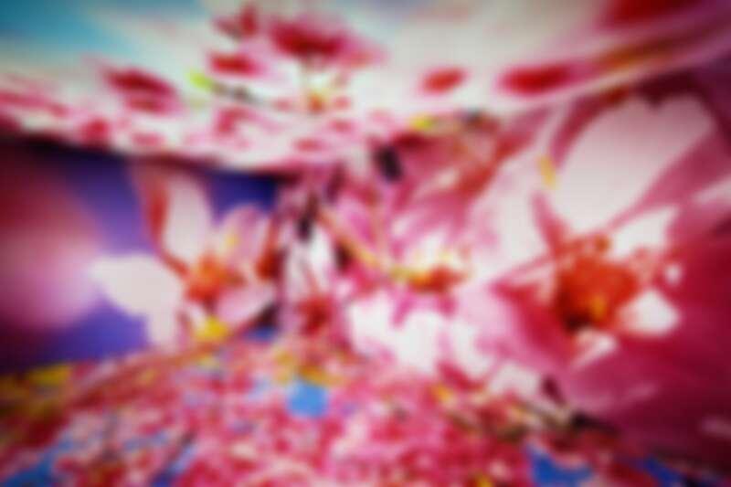 梵克雅寶X蜷川實花共同創作「Florae 花卉」珠寶展現場