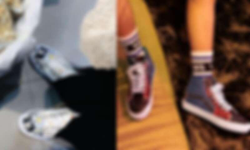 Vans從今年初開始陸續推出多種拼布系列鞋款各有風格特色