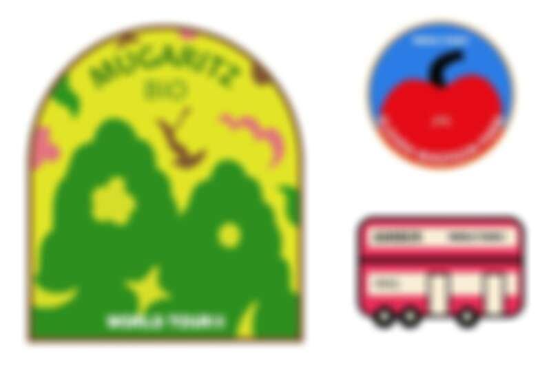 刺繡臂章將在網路商店販售。