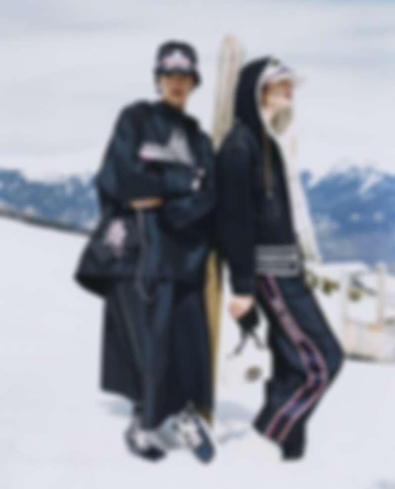 DiorAlps雪地系列