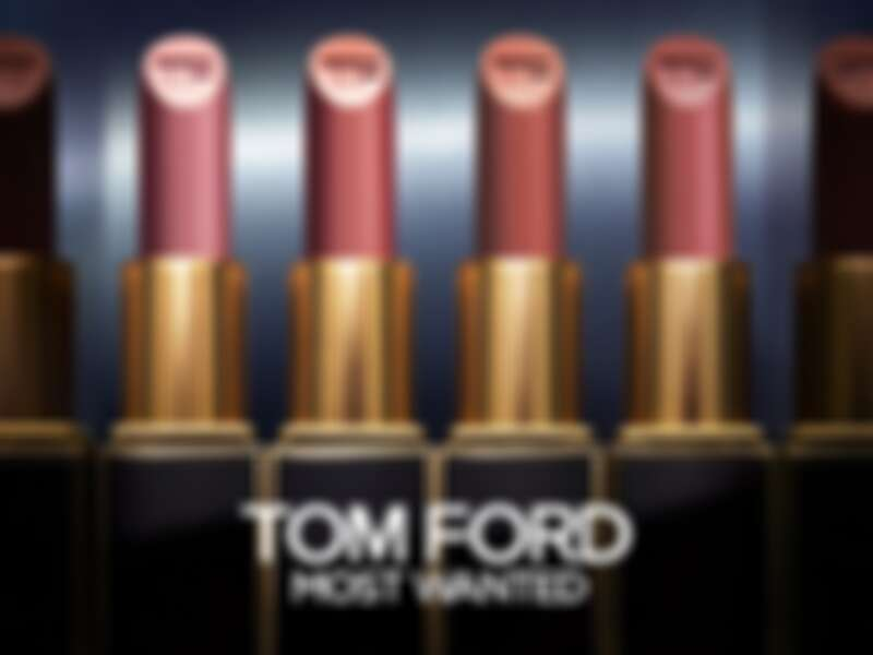 TOM FORD設計師唇膏2021年木質調唇膏主視覺。