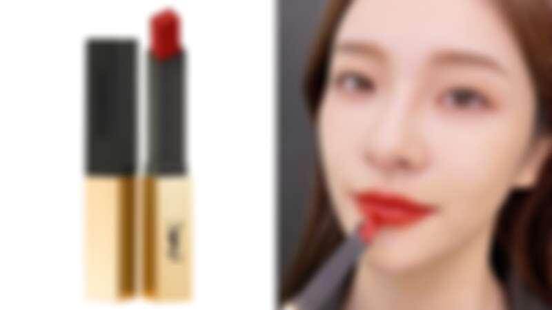 YSL奢華緞面絲絨唇膏2021誘惑棕紅系列(#33情誘楓橘),NT1,360