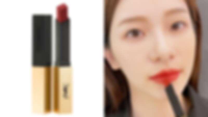 YSL奢華緞面絲絨唇膏2021誘惑棕紅系列(#1966魅惑棕紅),NT1,360