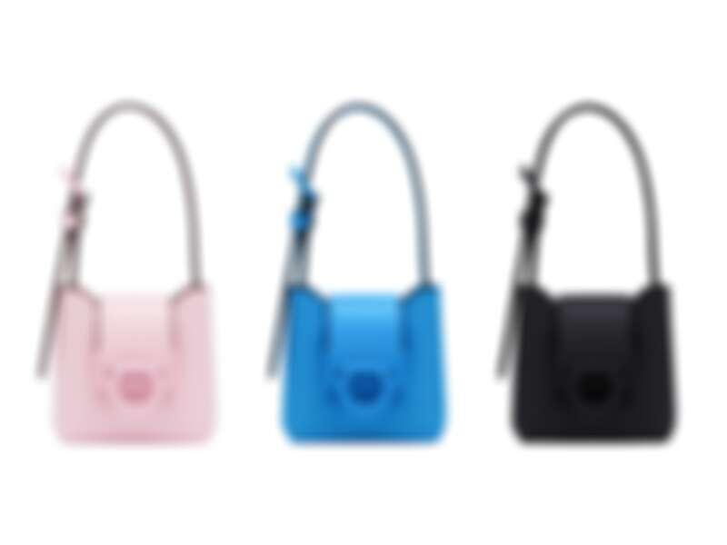 TRIFOLIO牛皮迷你手提包, 建議售價NT26,900