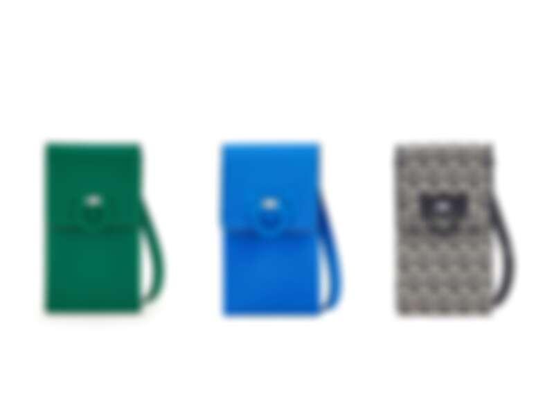 TRIFOLIO牛皮手機包,建議售價NT25,900