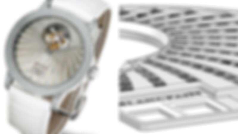 Blancpain專利的隱藏式寶石鑲嵌