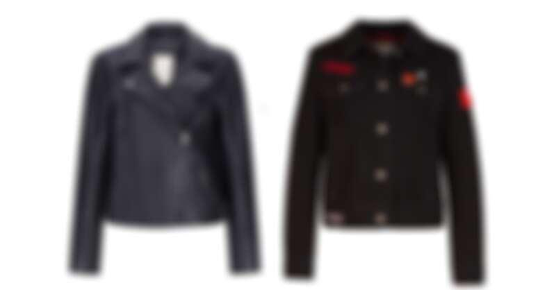 皮衣,NT$8990/徽章夾克,NT$4990