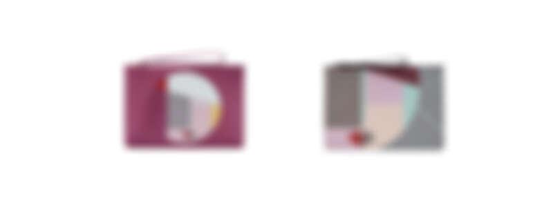 (由左至右) 幾何娃娃臉小物包NT7,280/ 幾何娃娃臉手拿包NT5,580