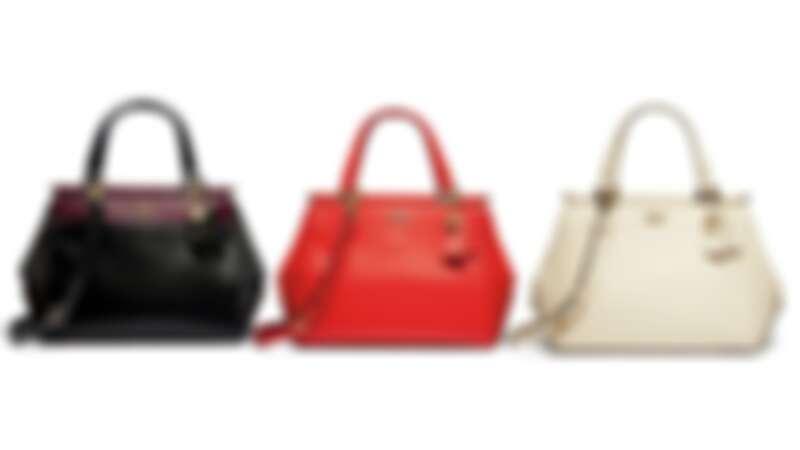 COACH X SELENA GOMEZ 聯名系列 Selena Grace皮革手袋,各NT19,800