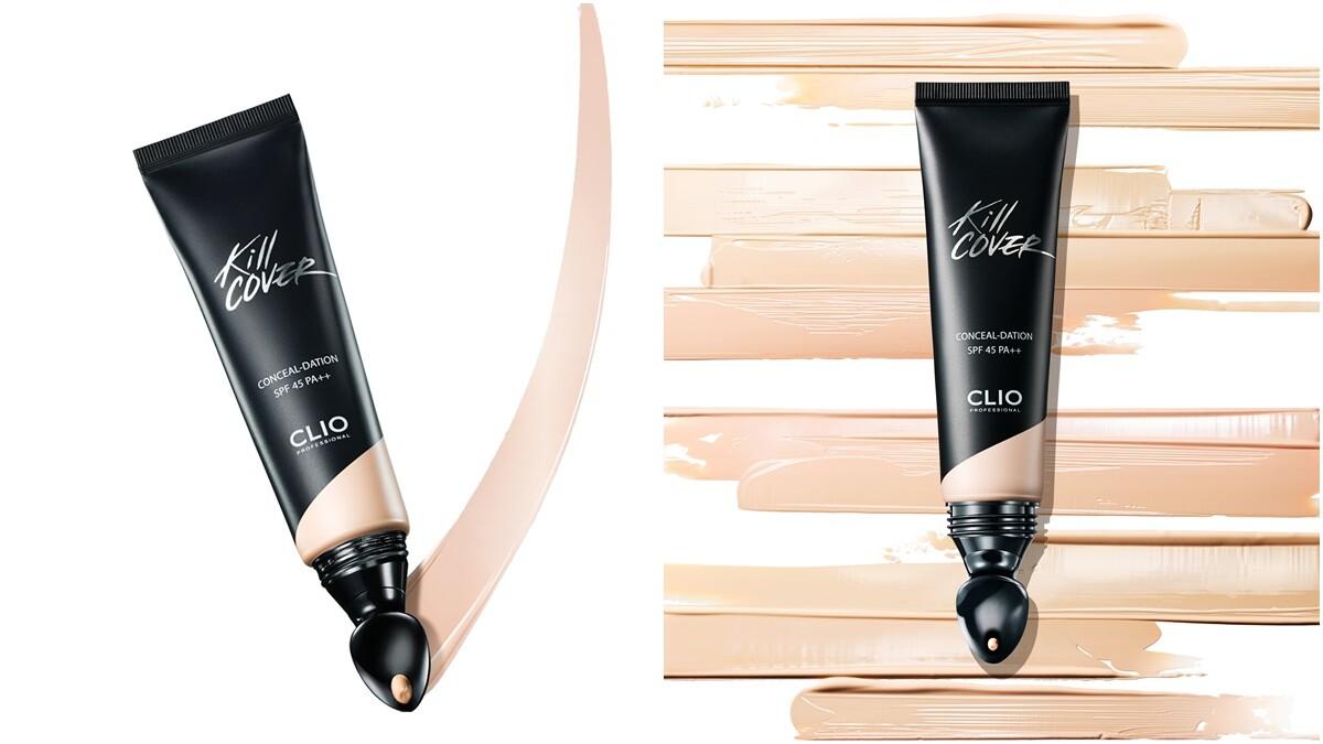 首創熨斗型的塗面可以打圈上妝超級服貼,在韓國有「主播底妝神器」之稱的CLIO完美無瑕霧光粉底液台灣終於推出了