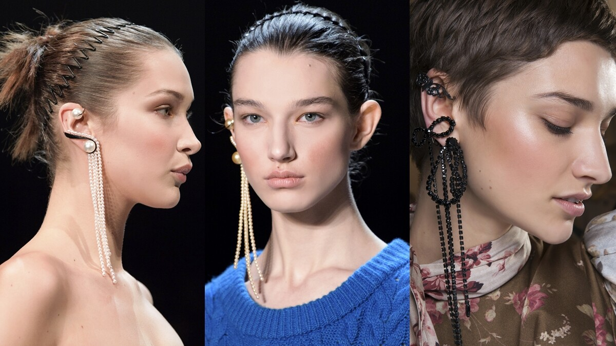 【編輯帶路】一戴上就超有態度!沒有耳洞的妳也能駕馭,盤點超時髦耳勾與耳掛珠寶!