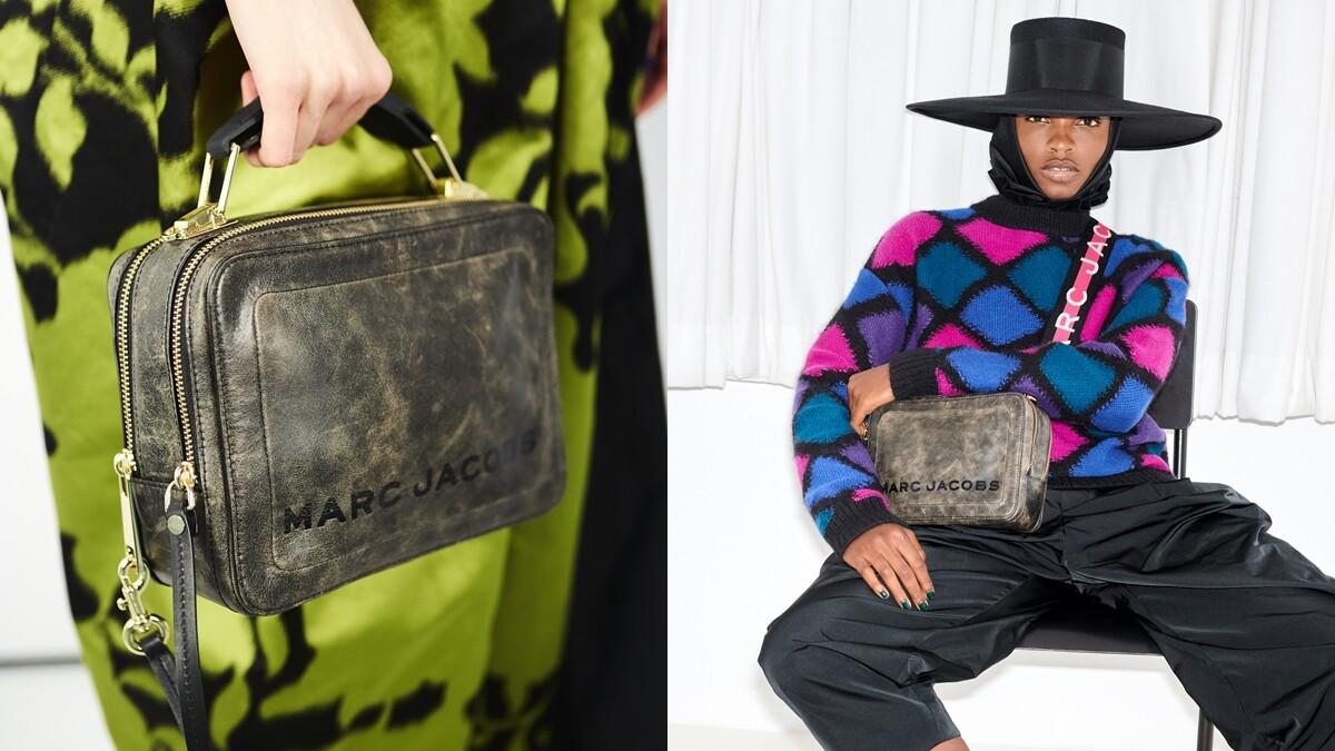 復古控請納入購物清單!Marc Jacobs以午餐盒為靈感,推出刷舊感美包The Box