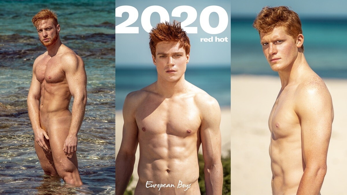 Red Hot Gingers Wanted For 2020 Calendar Shoot In Ibiza