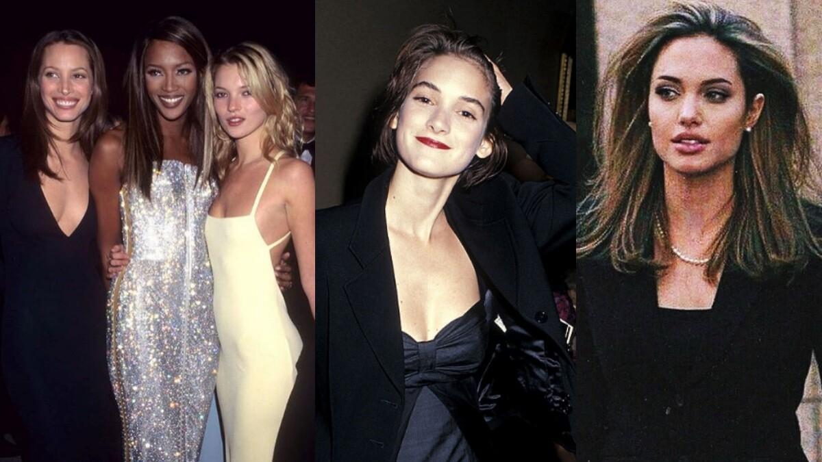 Angelina Jolie、Winona Ryder、Kate Moss...那些令全世界男人傾心的九〇年代好萊塢女星風格回顧特輯!