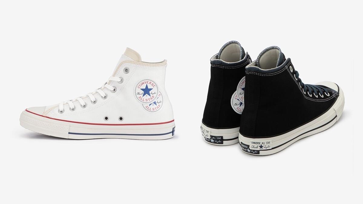 經典圓標Logo變成雙層設計!Converse再推全白All Star帆布鞋,腳後跟的雙鞋標更吸睛
