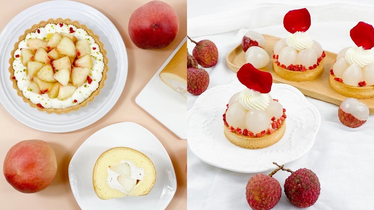 甜點控開吃!波絲甜推6款夏季限定甜點,榴槤生乳捲、水蜜桃塔、荔枝甜點一次滿足