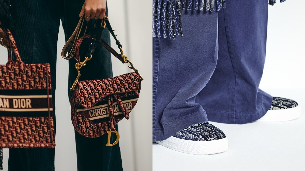 馬鞍包、Lady Dior、Dior Book托特袋染上酒紅色!Dior為秋冬帶來全新絲絨系列,還有新成員Solar便鞋加入