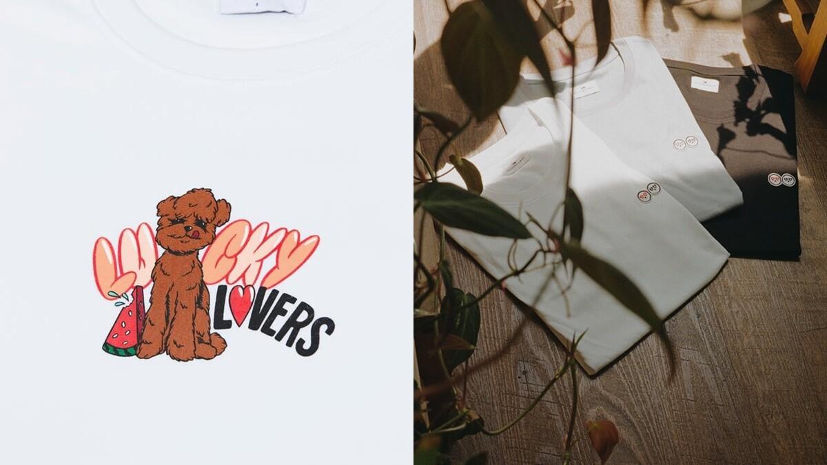 T-Shirt控務必入手!Artifacts再推萌趣品牌Lucky Lovers Club,還有汪星人愛的萌寵圖案