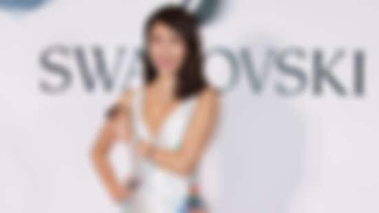時尚女王楊謹華換上性感水晶禮服,展演無敵璀璨Swarovski春夏新錶款