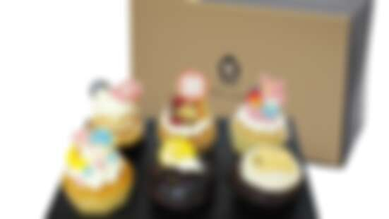 中秋節換換新口味!三麗鷗杯子蛋糕禮盒送禮太可愛