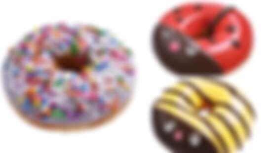 芋頭控看過來!Krispy Kreme推紫芋甜甜圈、可愛萌昆蟲系列怎麼捨得吃