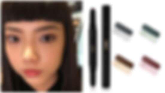 YSL首度推出雙效眼影筆, #04金屬酒紅絕對必收。搭上眼線液、睫毛膏,輕鬆畫出時尚眼妝