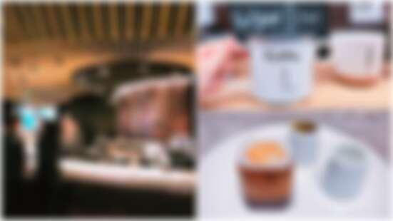 「一半濃縮咖啡一半香草籽,吃起來酥脆酥脆的咖啡餅乾好新奇」竹節裝潢設計、獨立咖啡吧台,星巴克101典藏門市一定要朝聖的4大亮點