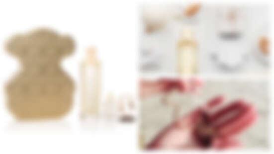 太可愛了!TOUS黃金小熊限量版淡香精禮盒有迷你版香水和黃金小熊鑰匙圈!太令人想擁有了呀~