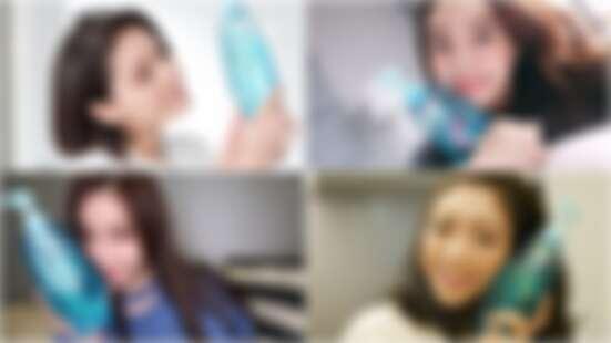 完美妝感就從選對洗髮露開始!網紅們與「鑽石小藍瓶」的養髮秘招大公開