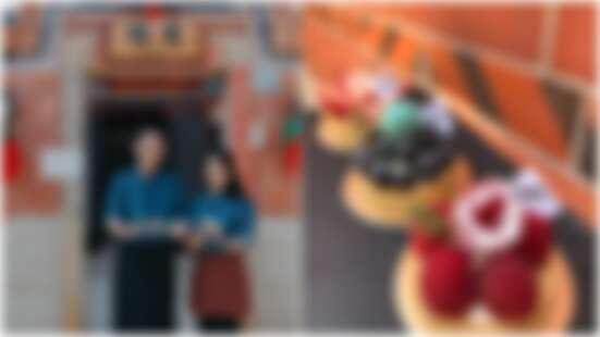 藏身在閩式古厝內的甜點店!到金門玩一定要去採點,問當地人都知道的「愜意甜點工作室」