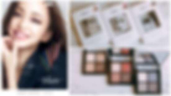 安室奈美惠代言Visee彩妝壓軸推出時尚精選眼影盤NA,連顏色都是安室女神親自挑選